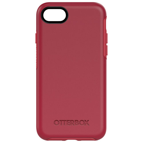 OtterBox Symmetry iPhone 7/8 Fitted Hard Shell Case - Red