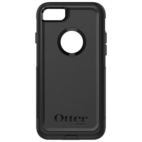 Étui rigide ajusté Commuter d'OtterBox pour iPhone 7/8 - Noir