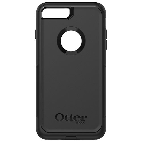 OtterBox Commuter iPhone 7/8 Plus Fitted Hard Shell Case - Black
