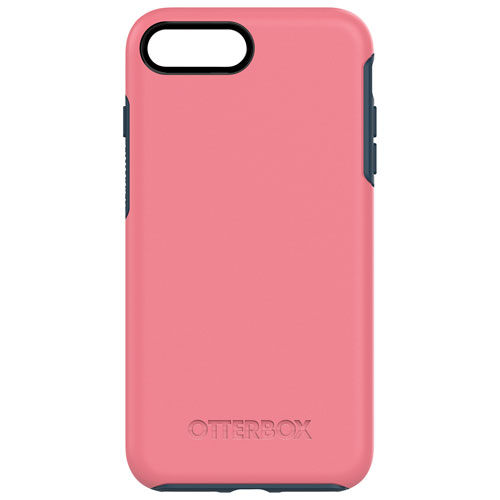OtterBox Symmetry iPhone 7/8 Plus Fitted Hard Shell Case - Pink/Blue