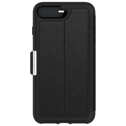Étui rigide ajusté Strada d'OtterBox pour iPhone 7/8 Plus - Noir