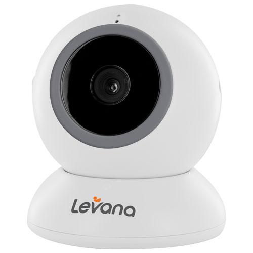 Caméra supplémentaire pour système à interphone de surveillance Alexa de Levana