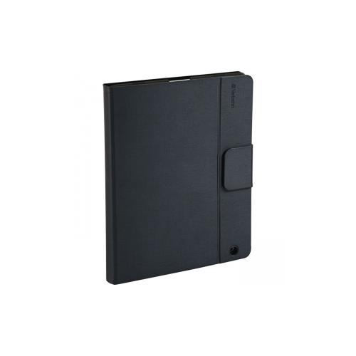 Verbatim Keyboard/Cover Case (Folio) for iPad - Gray