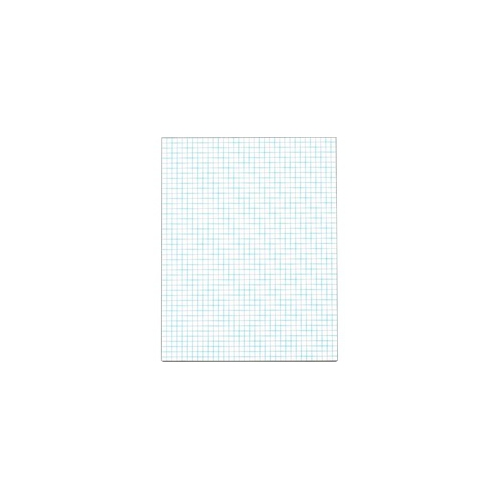 TOPS 4 x 4 Ruled Quadrille Pads - Letter