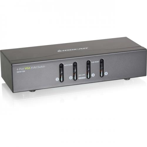 Iogear 4 Port VGA KVM Switch, PS2 and USB