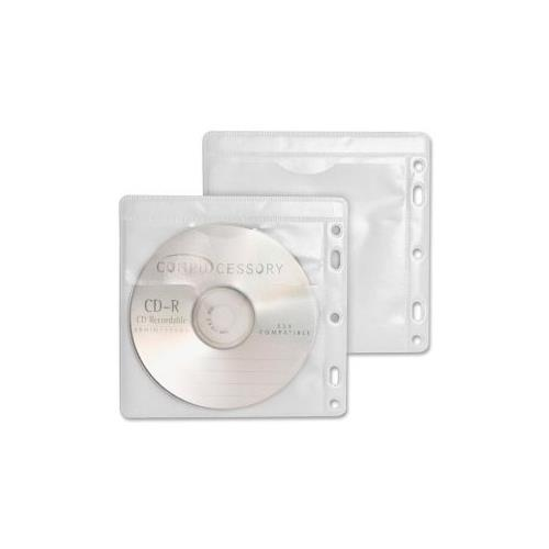 Compucessory Double-Pocket CD/DVD Sleeve