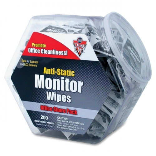 Falcon Monitor Wipes Office Share Pack - DMHJ