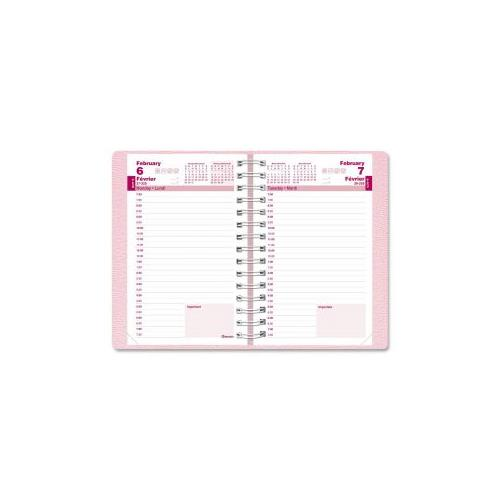 Blueline Pink Ribbon Daily Diary