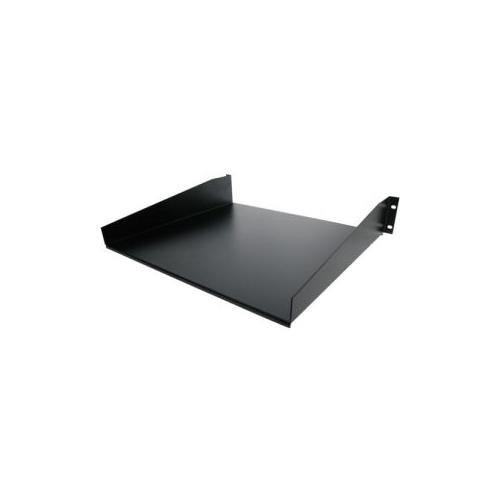 StarTech Black Standard Universal Server Rack Cabinet Shelf