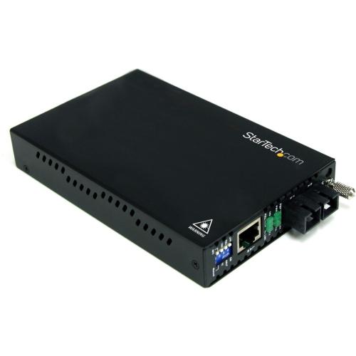 StarTech 10/100 Mbps Multi Mode Fiber Media Converter SC 2 km