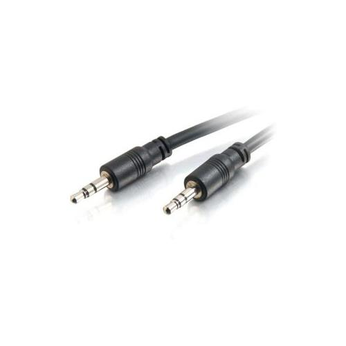 C2G 35ft CMG-Rated 3.5mm Stereo Audio Cable With Low Profile Connectors
