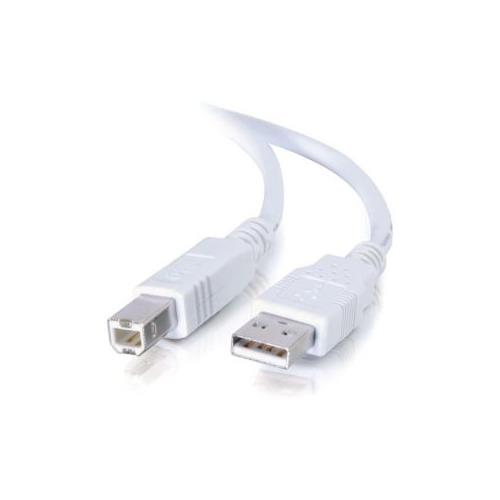 C2G 1m USB 2.0 A/B Cable - White