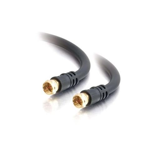 C2G 12ft Value Series F-Type RG6 Coaxial Video Cable