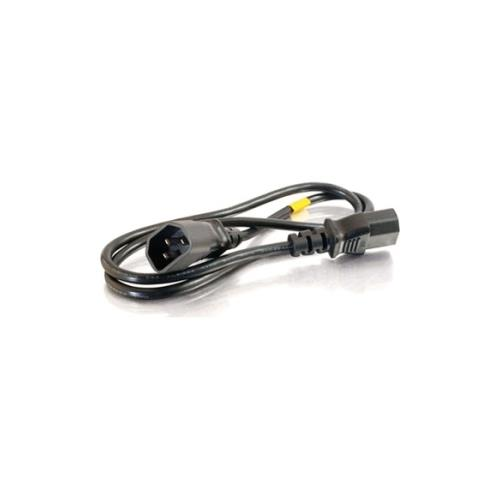 C2G 6ft 16 AWG 250 Volt Computer Power Extension Cord (IEC320C14 to IEC320C13)
