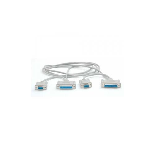 StarTech 6 ft DB9-DB25 Laplink Serial Cable