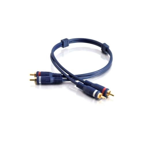 C2G 25ft Velocity RCA Stereo Audio Cable