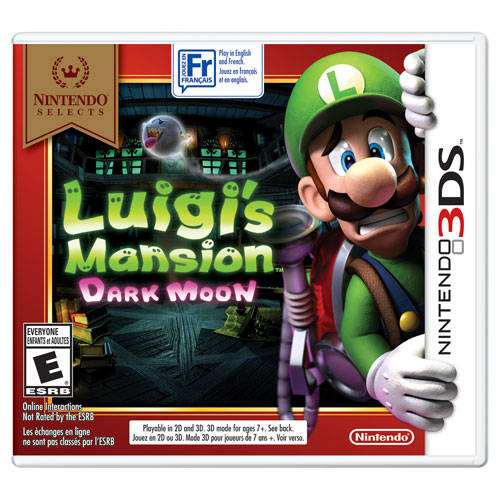 Luigi's Mansion: Dark Moon (3DS)