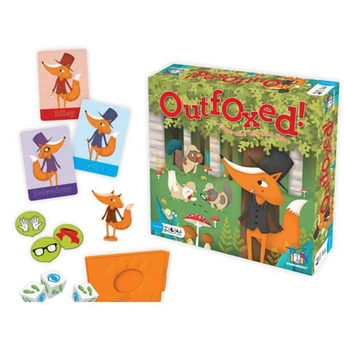 Outfoxed Card Game