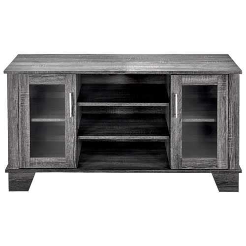 "Insignia TV Stand for TVs Up To 50"" - Light Grey"