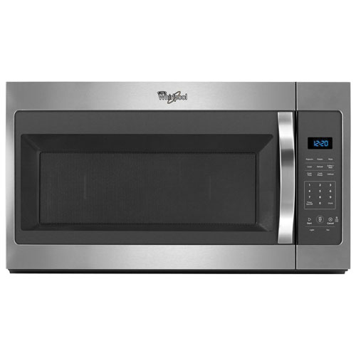 Whirlpool Over-the-Range Microwave - 1.7 Cu. Ft. - Stainless Steel