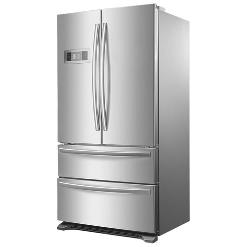 "Insignia 36"" 20.8 Cu.Ft. French Door Refrigerator (NS-RFD21SS7) - Stainless Steel"