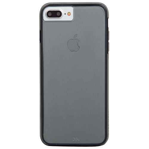 Case-Mate Naked Tough iPhone 7/8 Fitted Hard Shell Case - Smoke