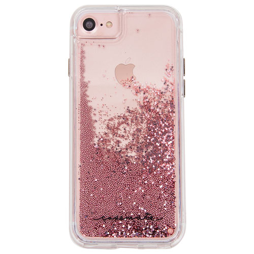 case mate naked tough waterfall iphone 7 8 fitted hard shell case rose gold iphone 8 7 6s. Black Bedroom Furniture Sets. Home Design Ideas