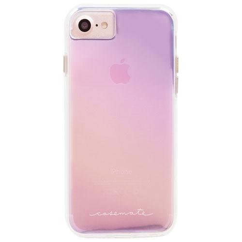 Étui rigide ajusté Naked Tough de Case-Mate pour iPhone 7/8 - Iridescent