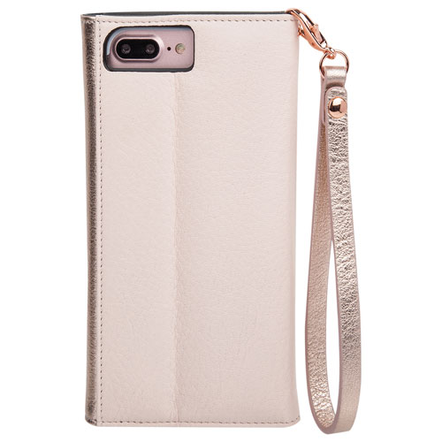 Case-Mate iPhone 7/8 Wristlet Case - Rose Gold