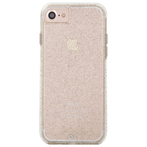 Case-Mate Naked Tough iPhone 7/8 Fitted Hard Shell Case - Champagne
