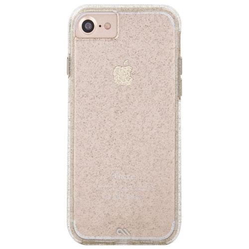 Étui rigide ajusté Naked Tough de Case-Mate pour iPhone 7/8 - Champagne
