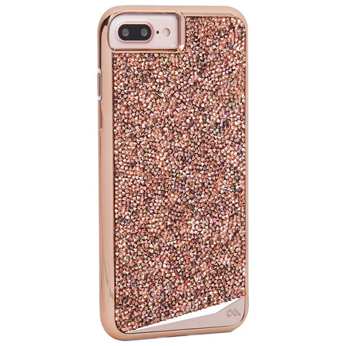 Case-Mate Brilliance Tough iPhone 7/8 Fitted Hard Shell Case - Rose Gold