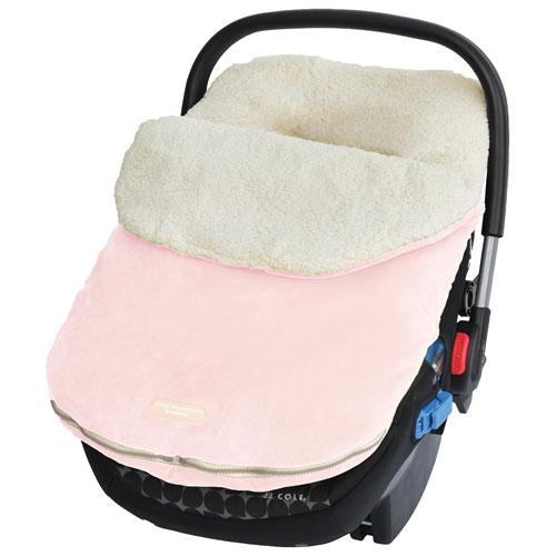 JJ Cole Original Bundleme Infant Car Seat Weather Shield - Pink