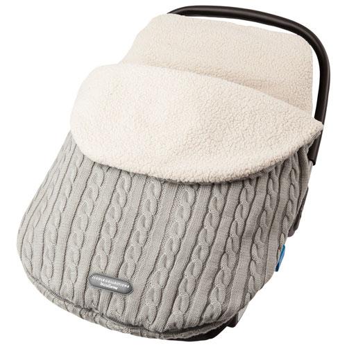 JJ Cole Knit Bundleme Infant Car Seat Weather Shield - Graphite
