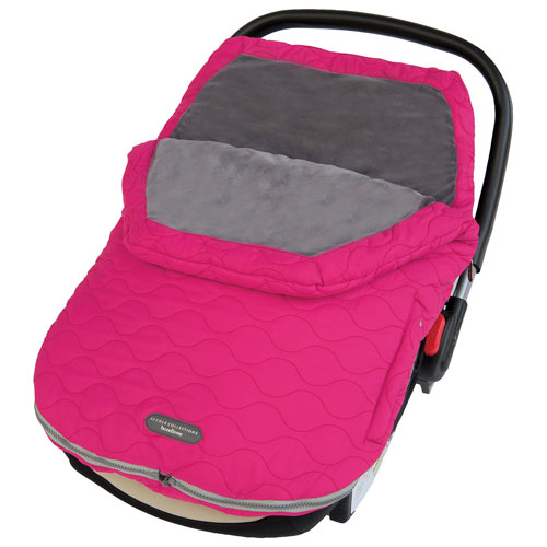 JJ Cole Urban Bundleme Infant Car Seat Weather Shield - Pink