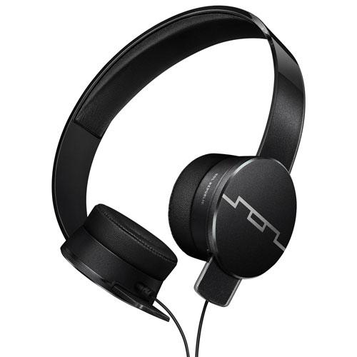 Casque d'écoute à isolation sonore Tracks HD 2 de SOL REPUBLIC (SOL-EP1251BK) - Noir