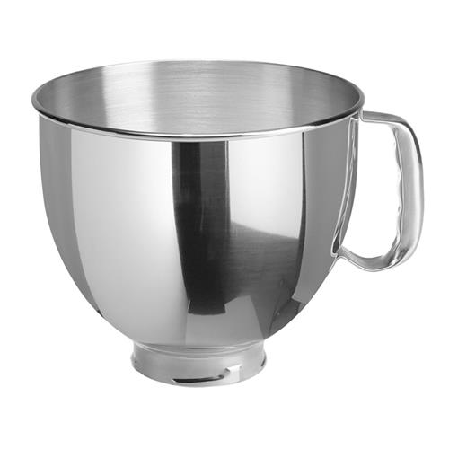 5-Quart Stainless-Steel Bowl and Bowl Lid
