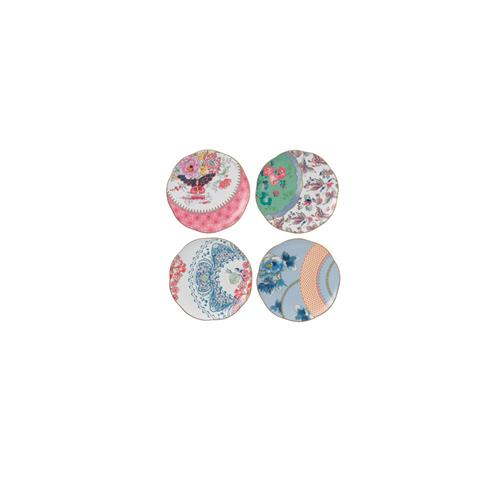 Butterfly Bloom Plates - Set of 4