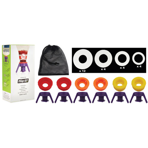 Flip It! Deluxe Cap Kit - Set of 6