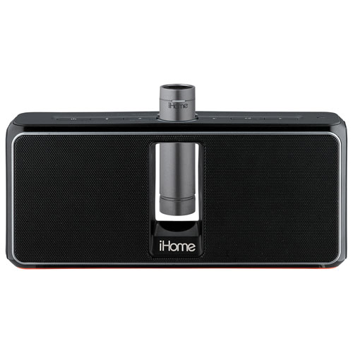 iHome iKN150 Bluetooth Wireless Speaker - Black