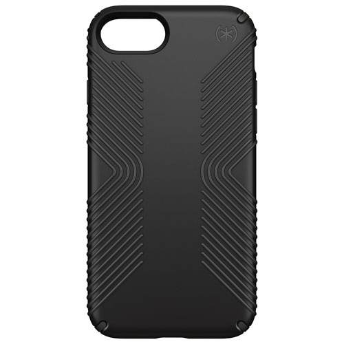 Speck Presidio Grip 2.0 iPhone 7/8 Fitted Hard Shell Case - Black