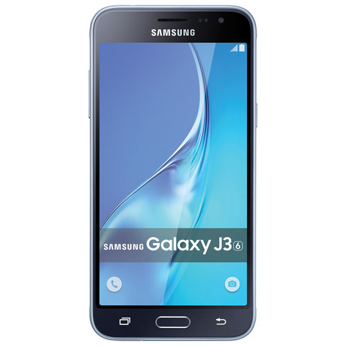 Rogers Samsung Galaxy J3 1.5GB Smartphone - Black/Grey - 2 Year Agreement