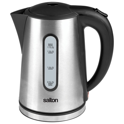 Best Cordless Electric Kettle ~ Salton cordless electric kettle l stainless steel