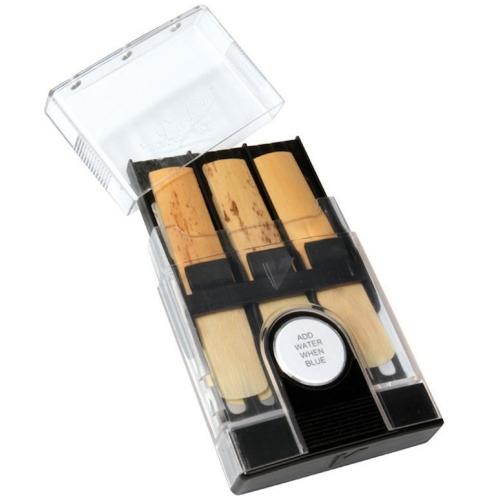 Vandoren Hygro Reed Case - Large Reeds, Holds 6