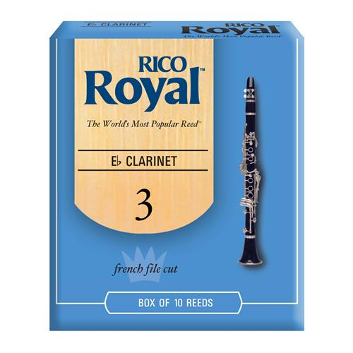 Royal Eb Clarinet Reeds - #3, 10 Box