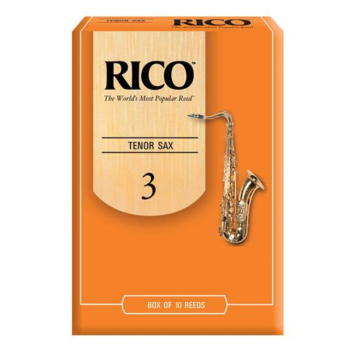 Rico Tenor Saxophone Reeds - #3, 10 Box