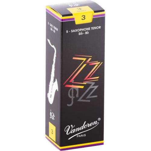 Vandoren ZZ Tenor Saxophone Reeds - #3, 5 Box