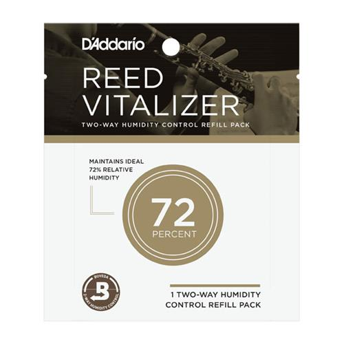 D'Addario Reed Vitalizer Single Refill Pack - 72% Humidity