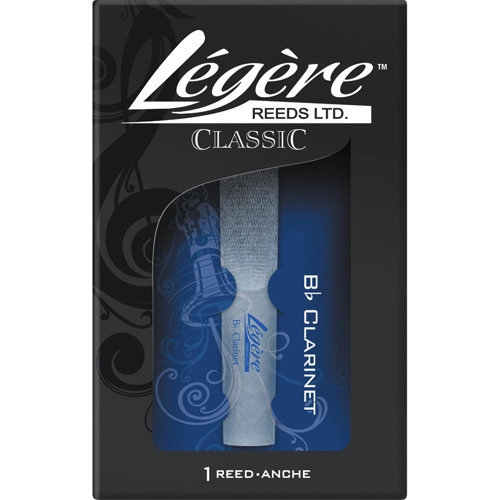 Legere Classic Bb Clarinet Reed - #2, Single
