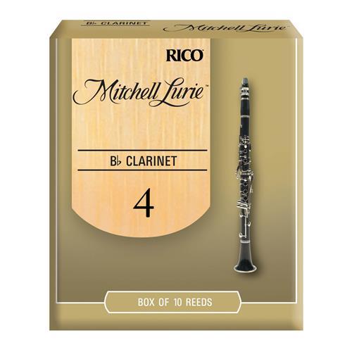 Mitchell Lurie Bb Clarinet Reeds - #4, 10 Box